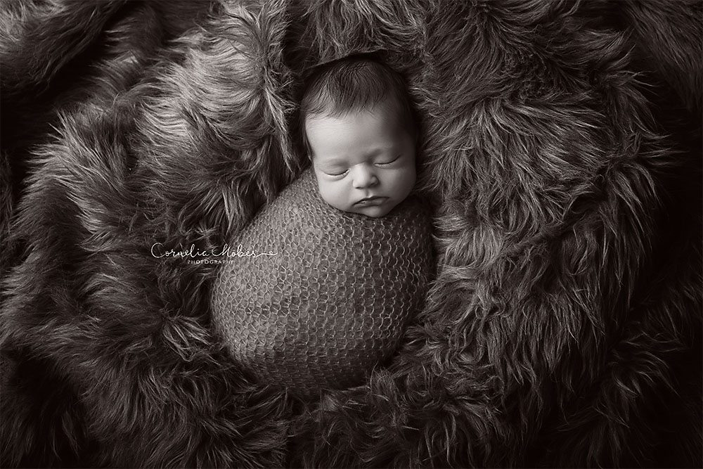 Neugeborenenbilder Babyboy Babyfotografie newbornshooting Neugeborenenfotografie Babyfotos Familie Cornelia Moebes Photography